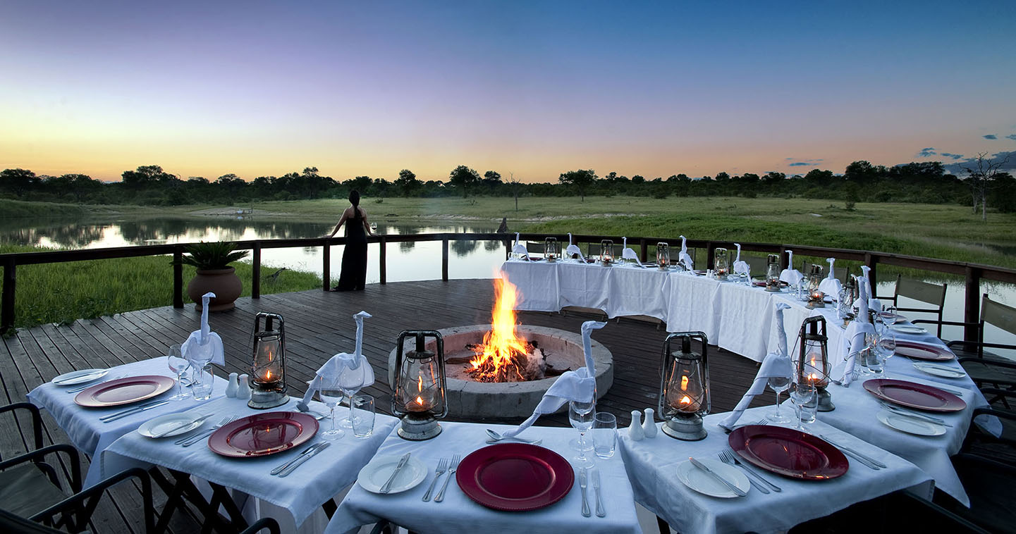 Dinner at Arathusa Safari Lodge