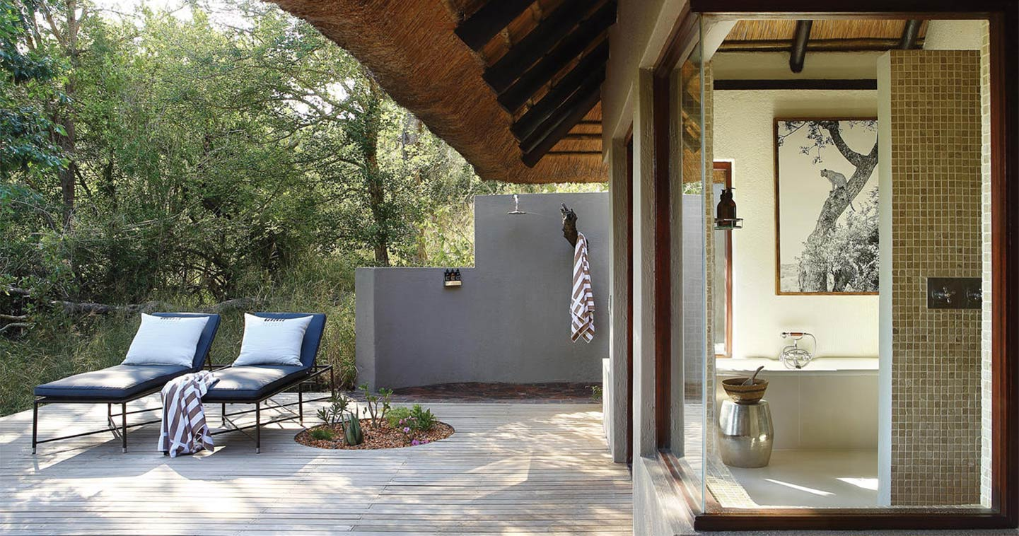 Bathroom at Londolozi Tree Camp
