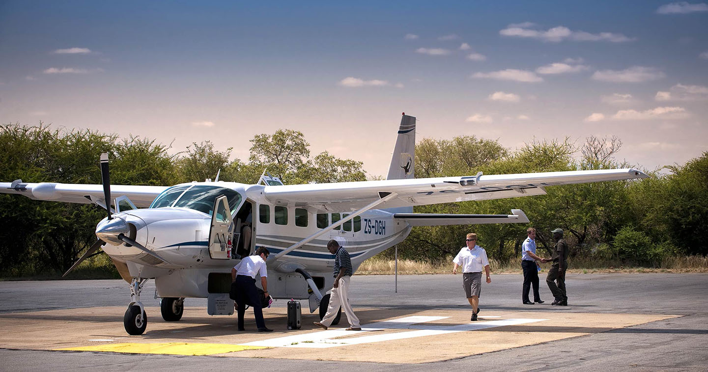 Easy access chater flight to Sabi Sand Game Reserve