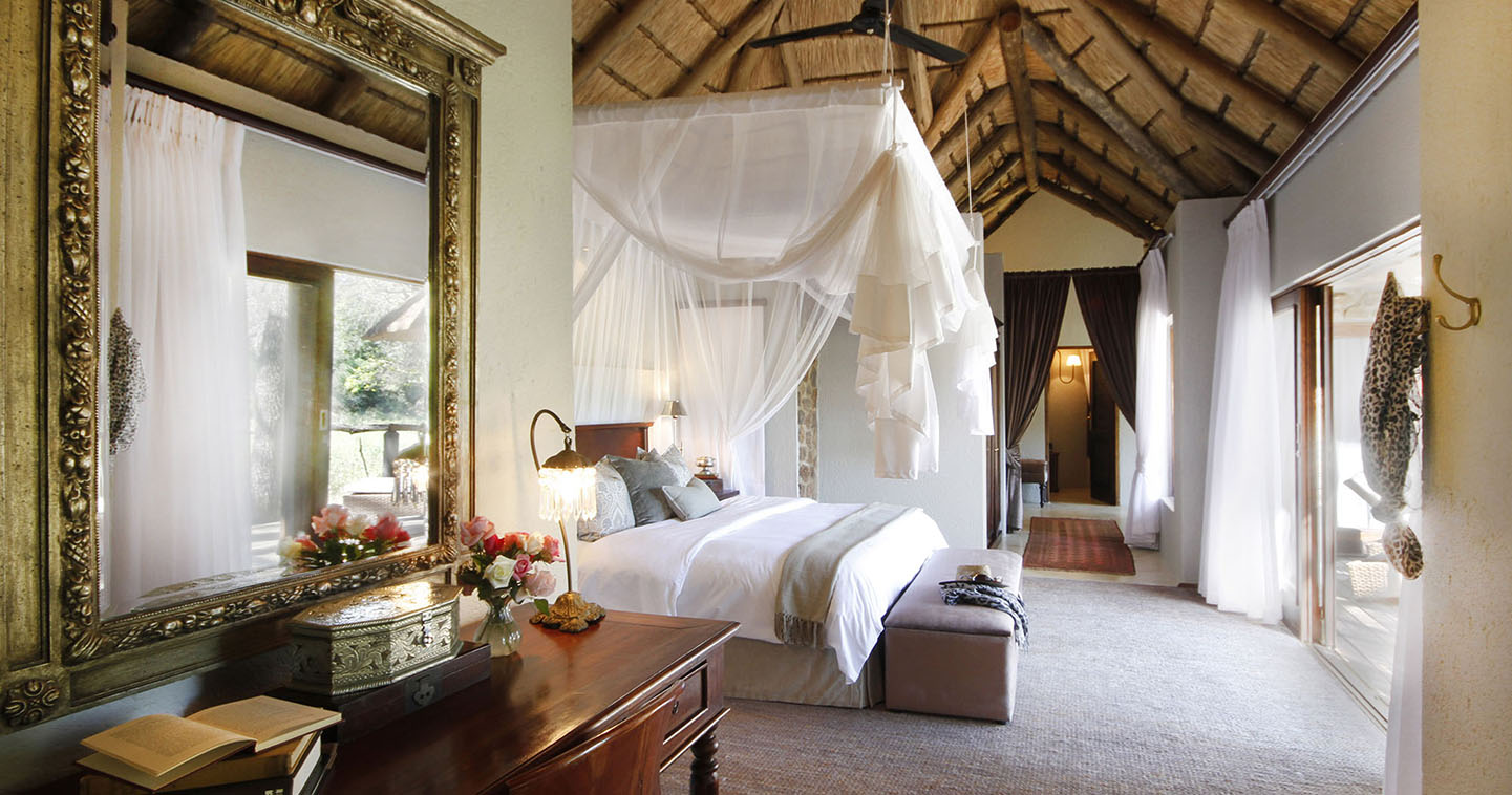 Dulini luxury bedroom in Sabi Sands