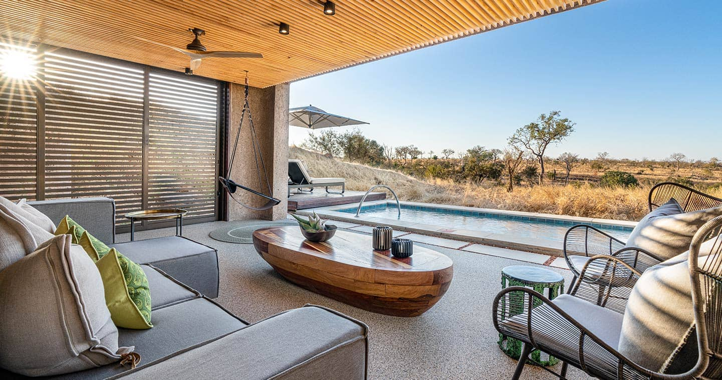 Sabi Sabi Earth Lodge plunge pool