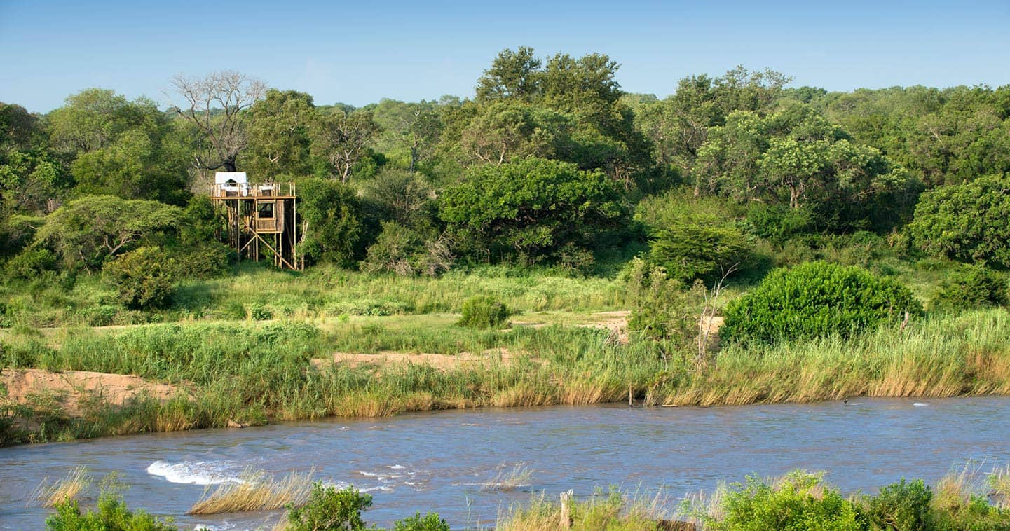 Lion Sands Game Reserve treehouse