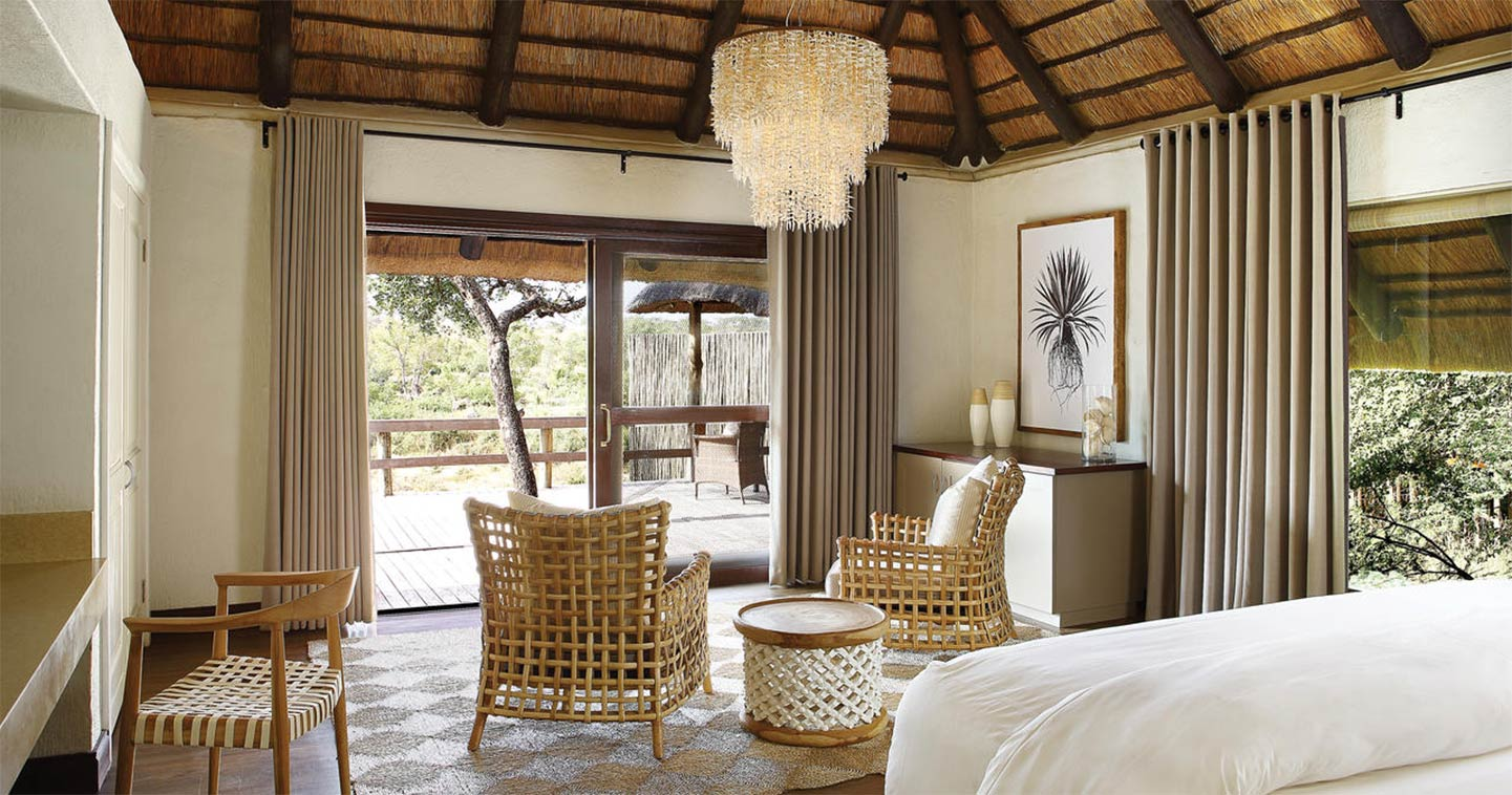 Londolozi Founders Camp bedroom in Sabi Sands