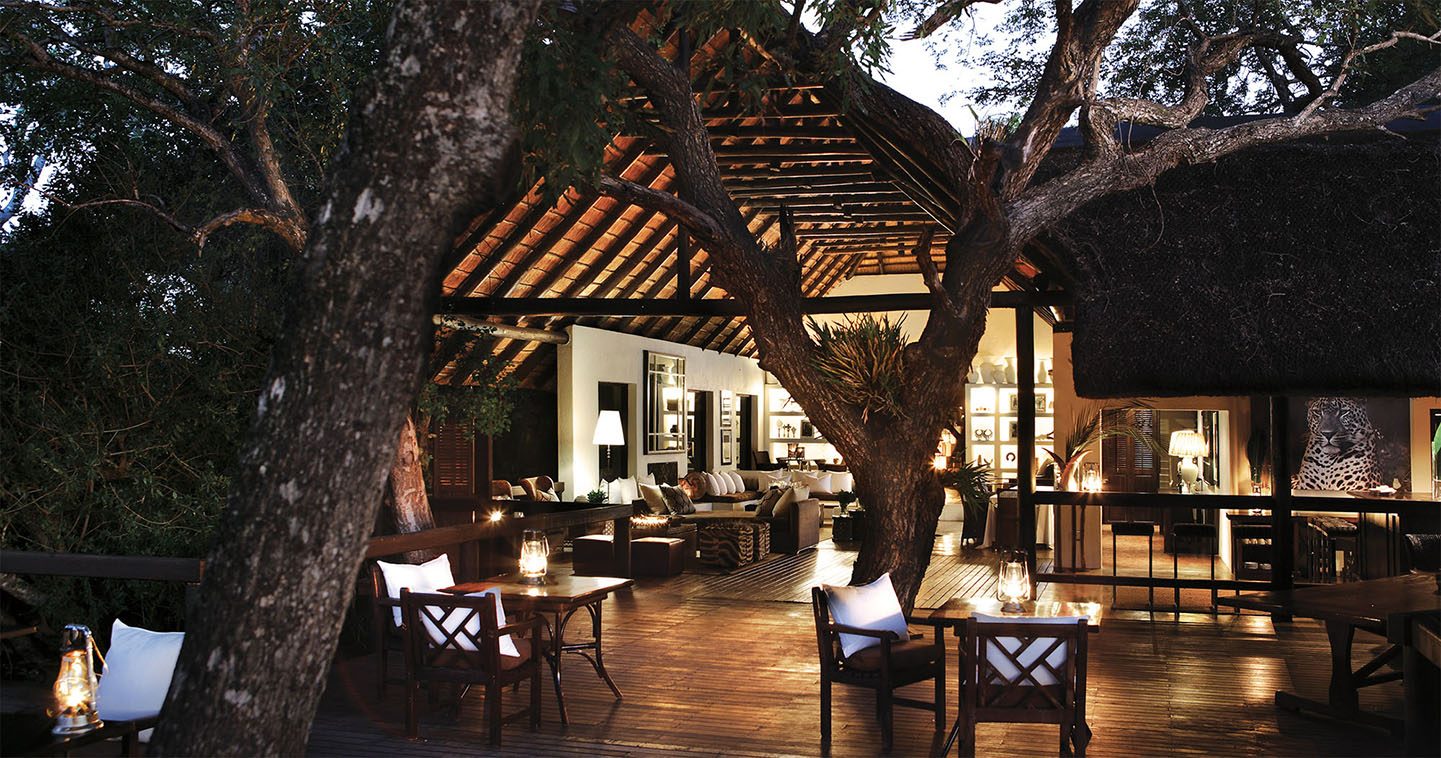 Londolozi Tree Camp main lodge in Sabi Sands