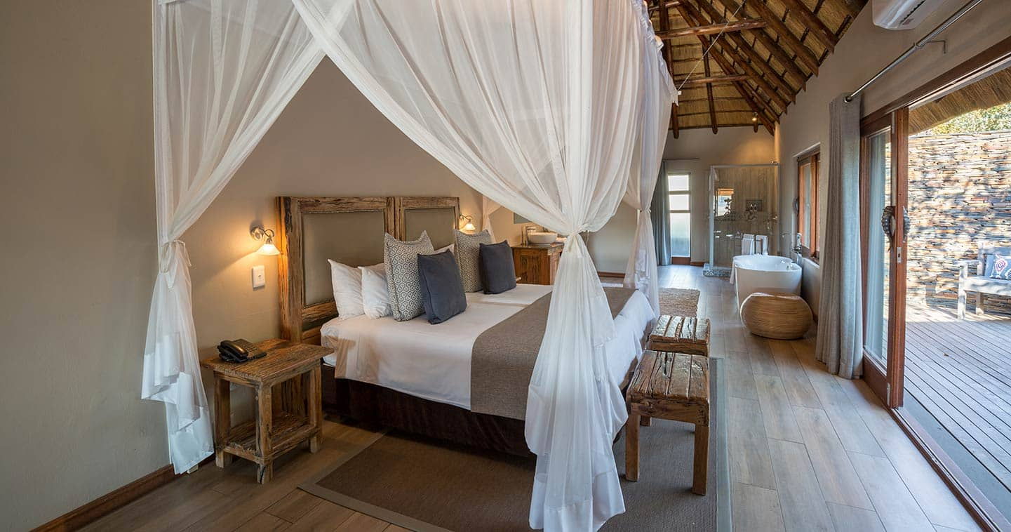 Arathusa luxury bedroom in Sabi Sands