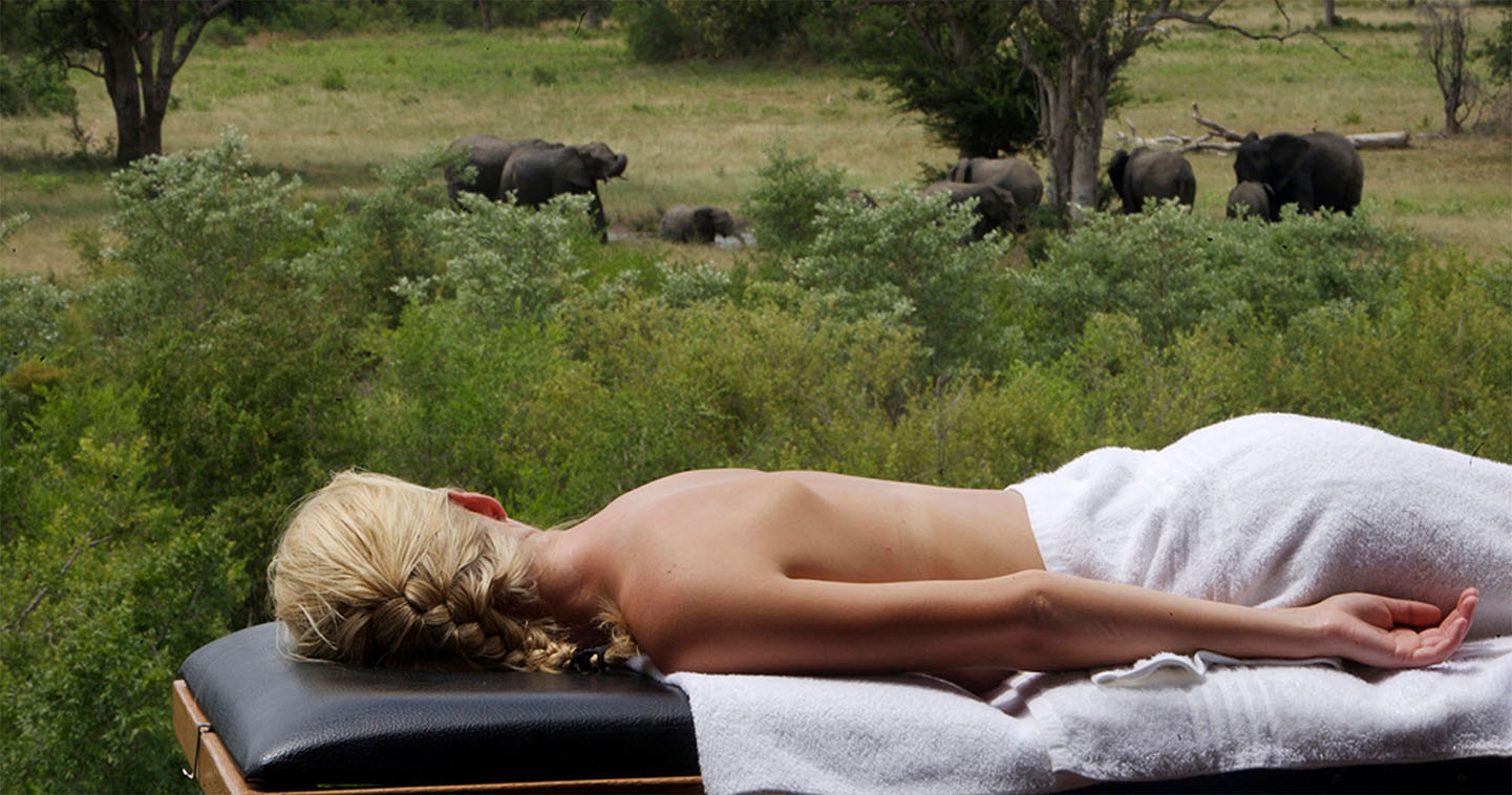 Spa at Elephant Plains Lodge for a luxury safari in South Africa