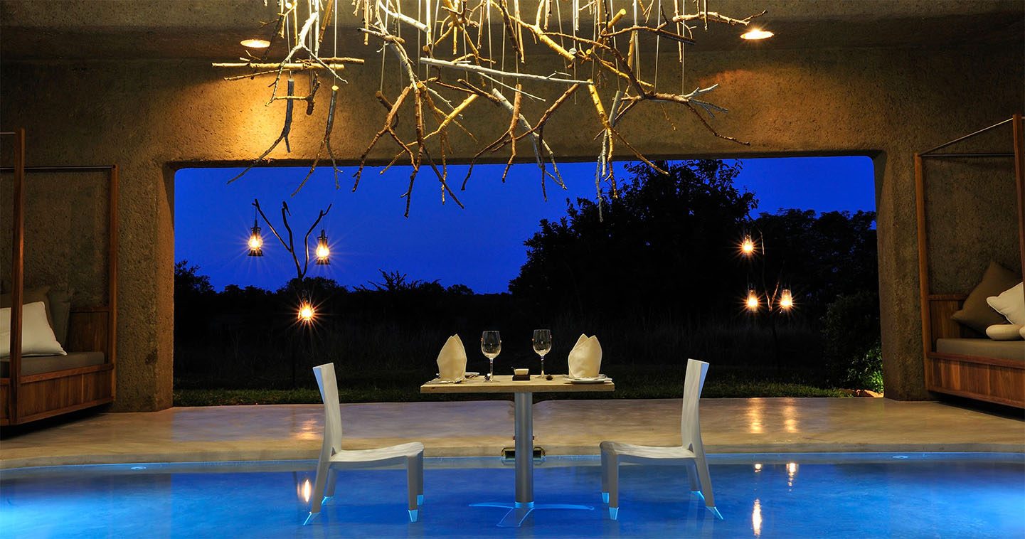 Pool at Sabi Sabi Earth Lodge