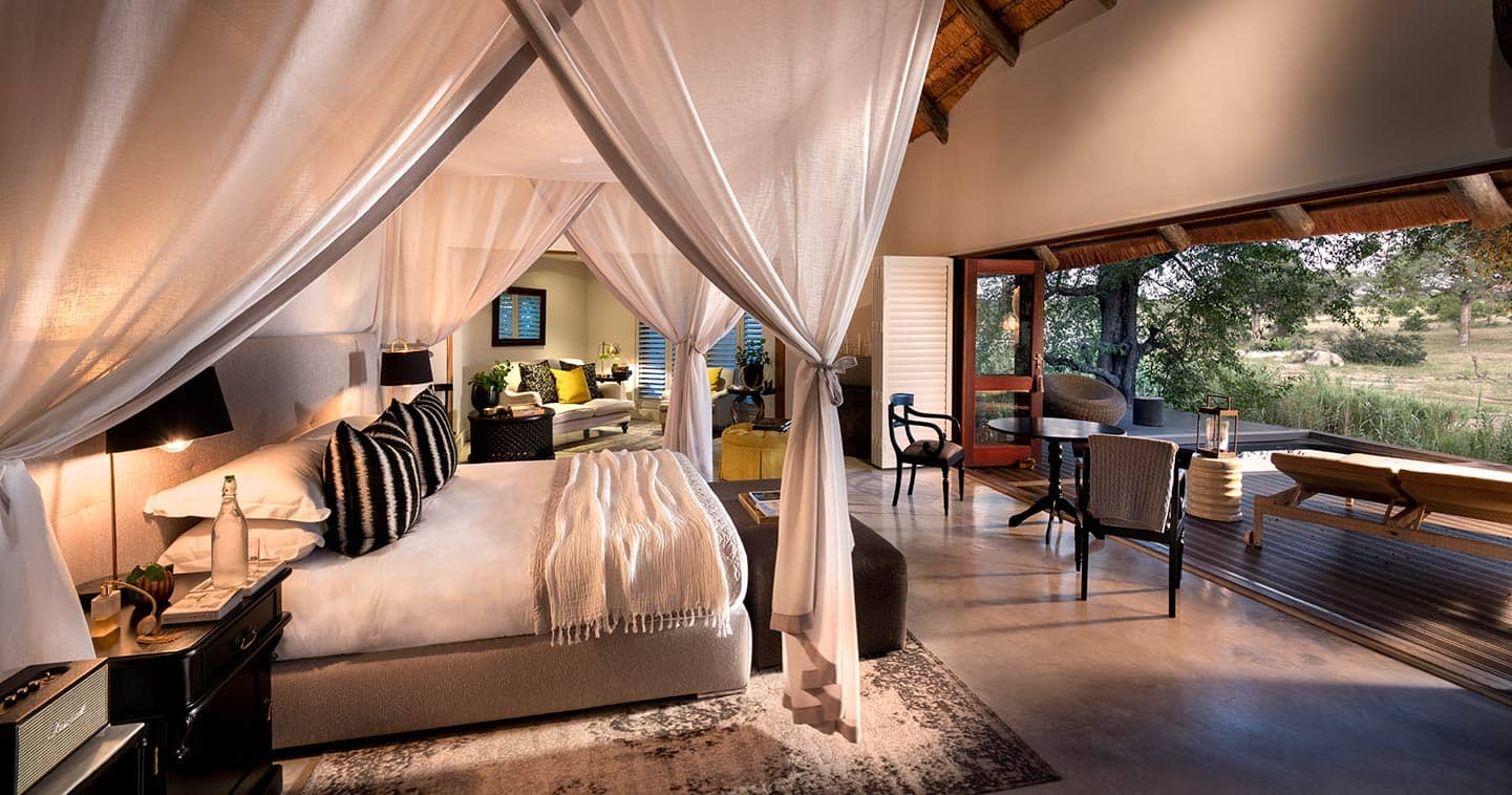 Luxury safari suite at Chitwa Chitwa in Sabi Sand