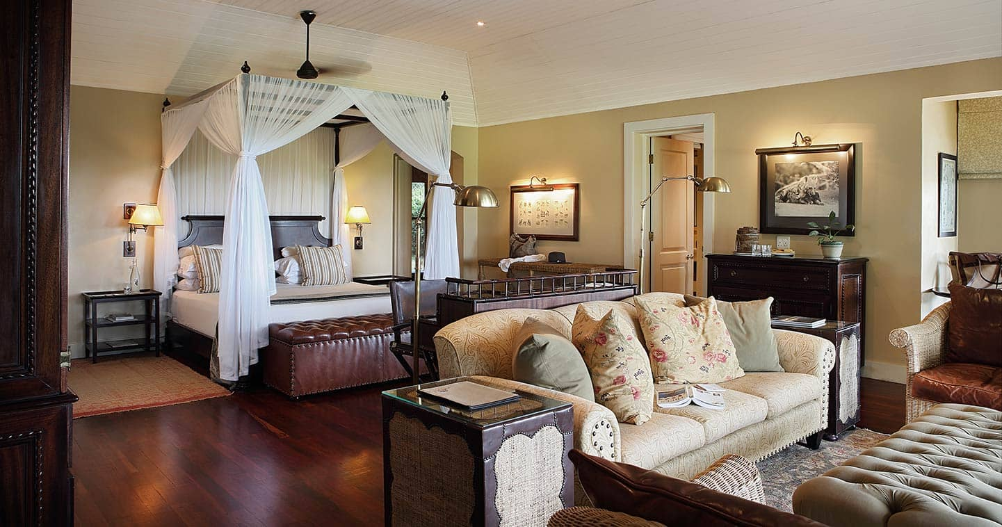 Mala Mala rattray's Camp bedroom in Sabi Sands