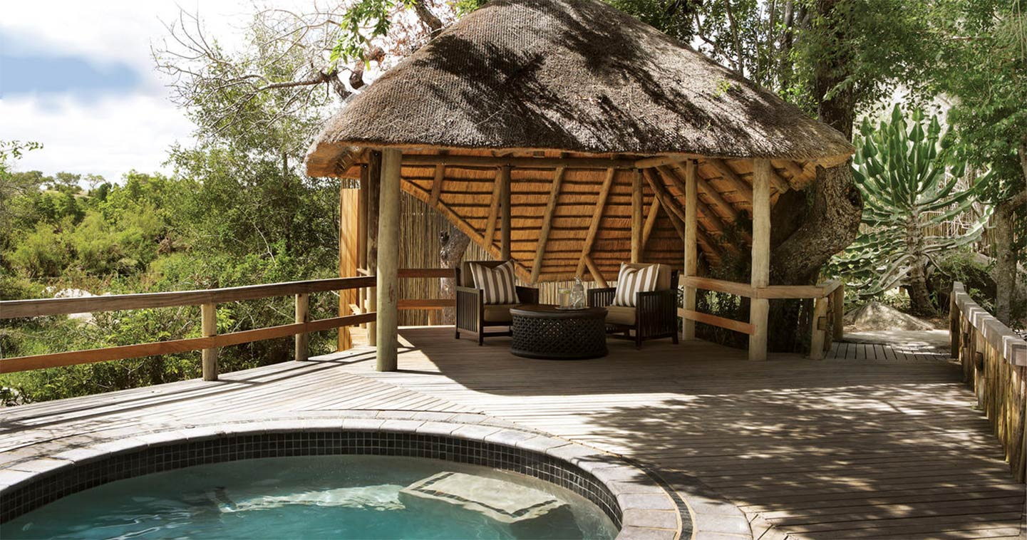 Sabi Sand Londolozi Founders Camp private plunge pool