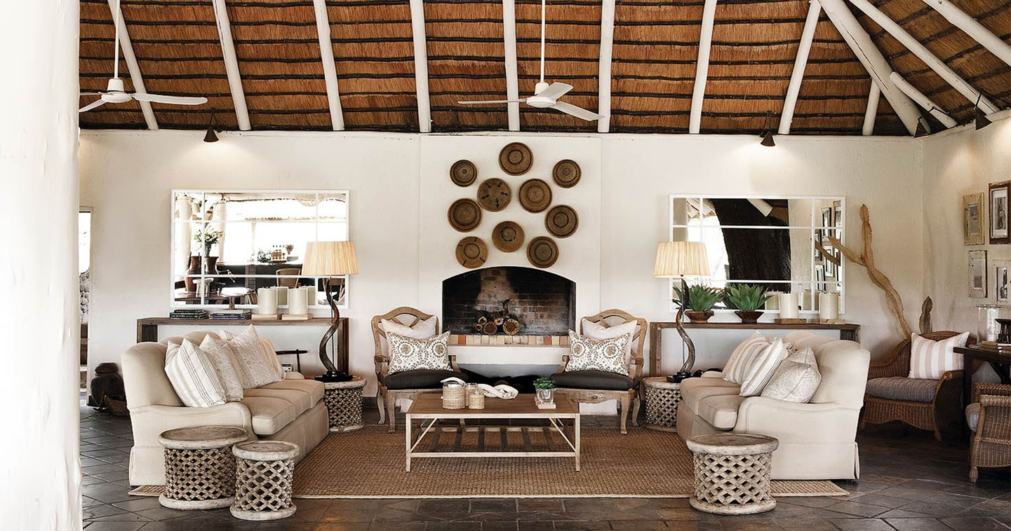 Londolozi founders camp in sabi sands game reserve for African interior decoration