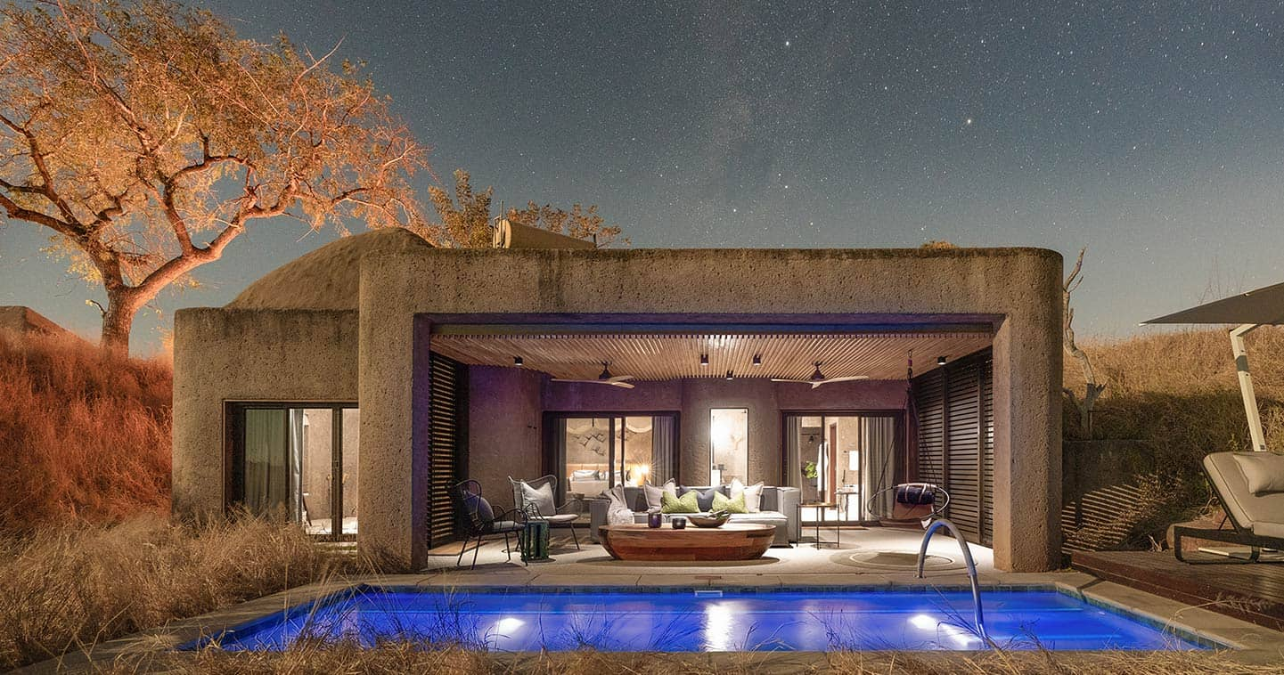 Sabi Sabi Earth Lodge in Sabi Sands