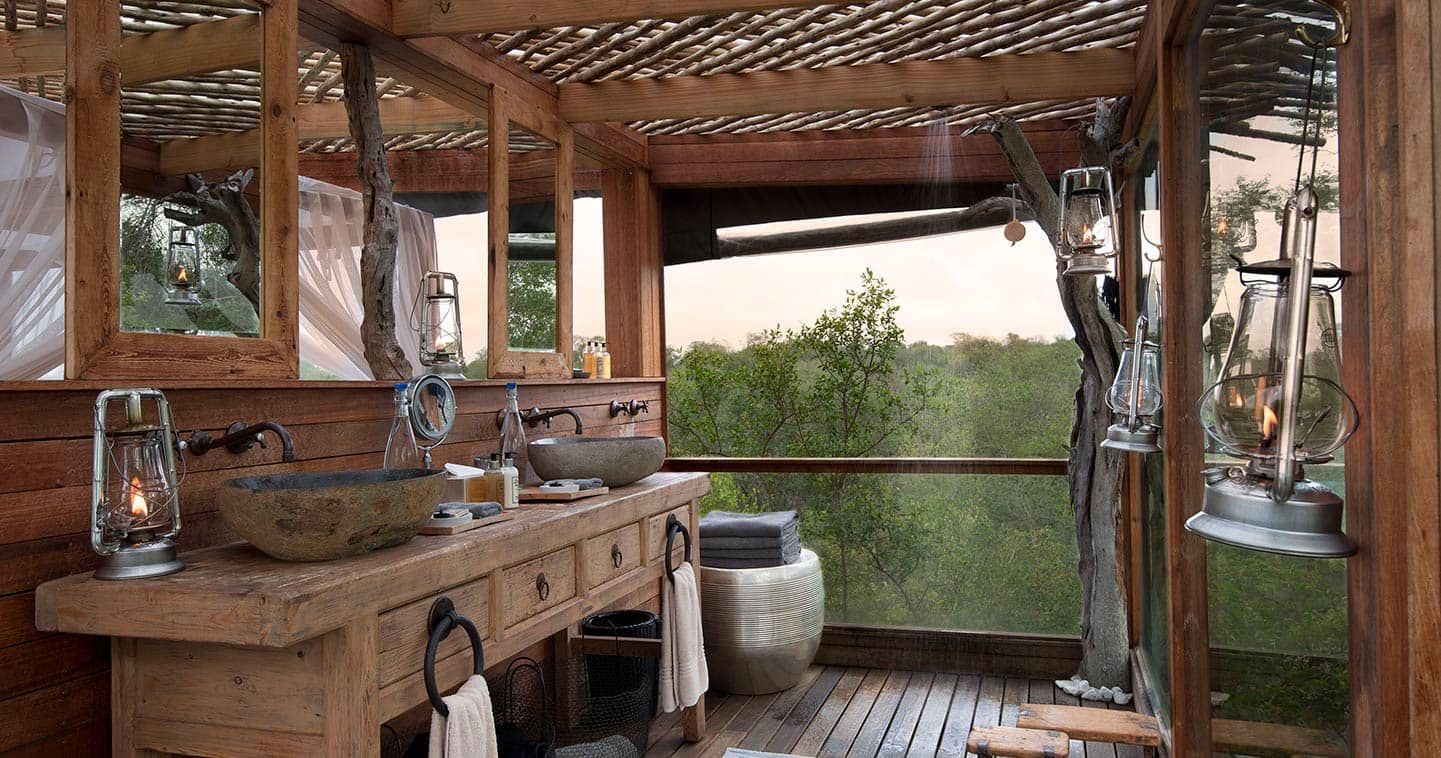 ... Bathroom In A Tree House In Sabi Sands ...