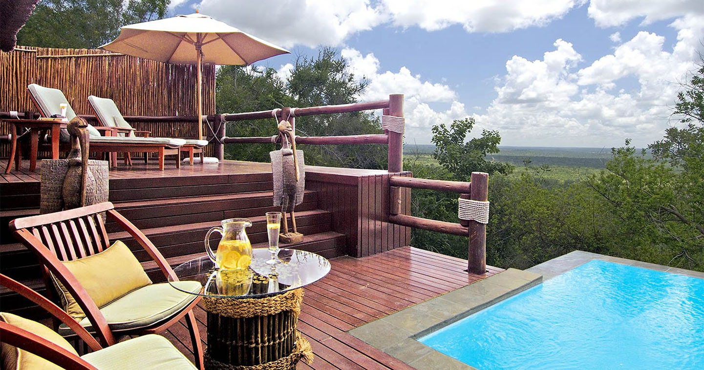 Pool at Ulusaba Lodge in Sabi Sands