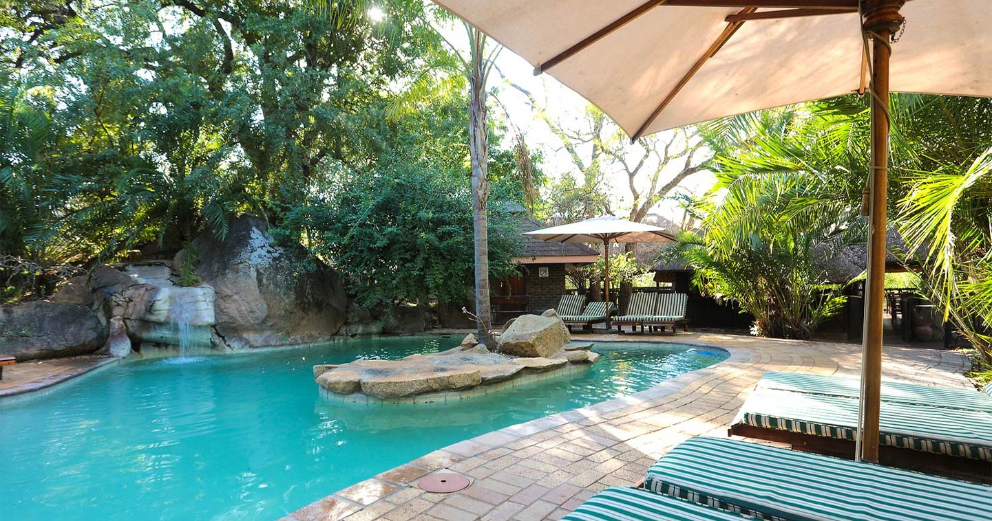 Pool at Idube Lodge in your safari in Sabi Sands