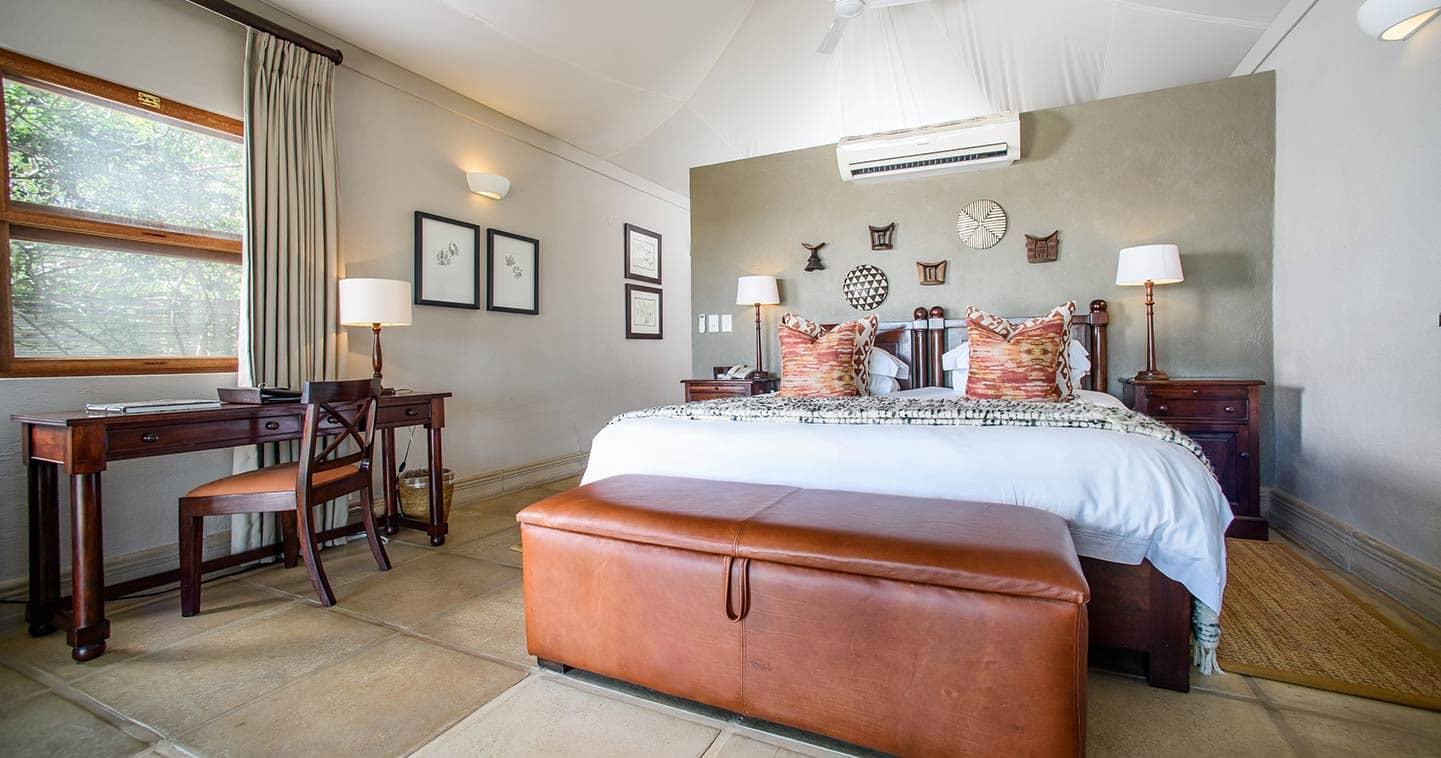 Savanna Lodge bedroom in Sabi Sand