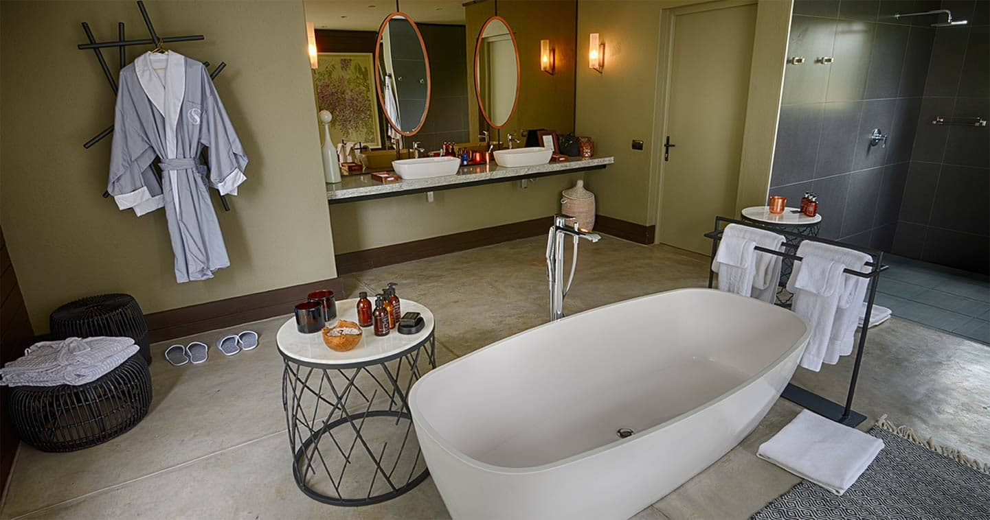 Bathroom at Silvan Safari in Sabi Sands Game Reserve