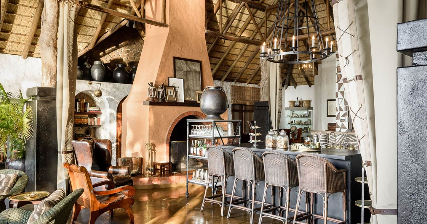 Outdoor living at Singita in Sabi Sands