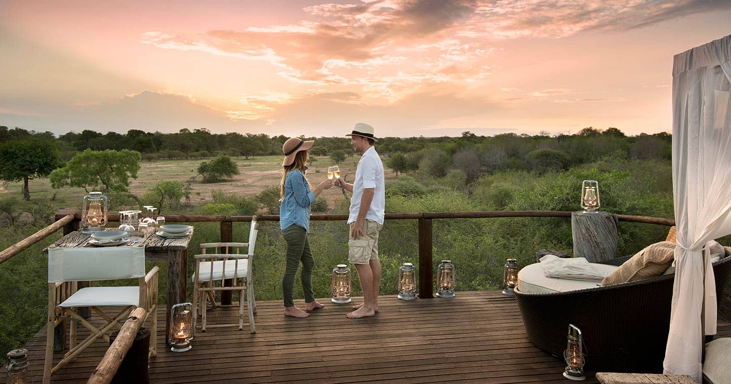 South Africa treehouse safari in Sabi Sand