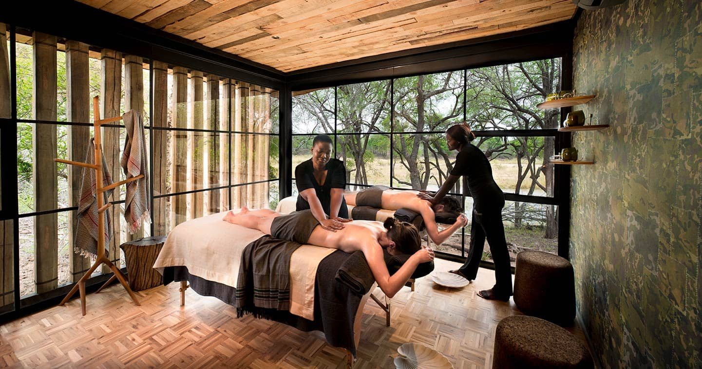 Enjoy a massage in the spa at Tengile Lodge in Sabi Sands
