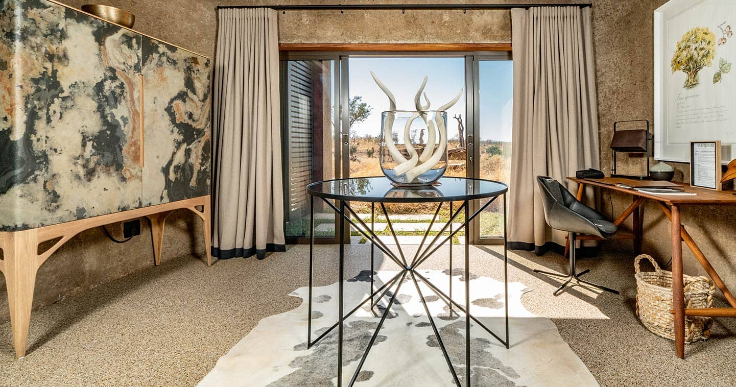 Style and luxury at Sabi Sabi Earth Lodge in Sabi Sand
