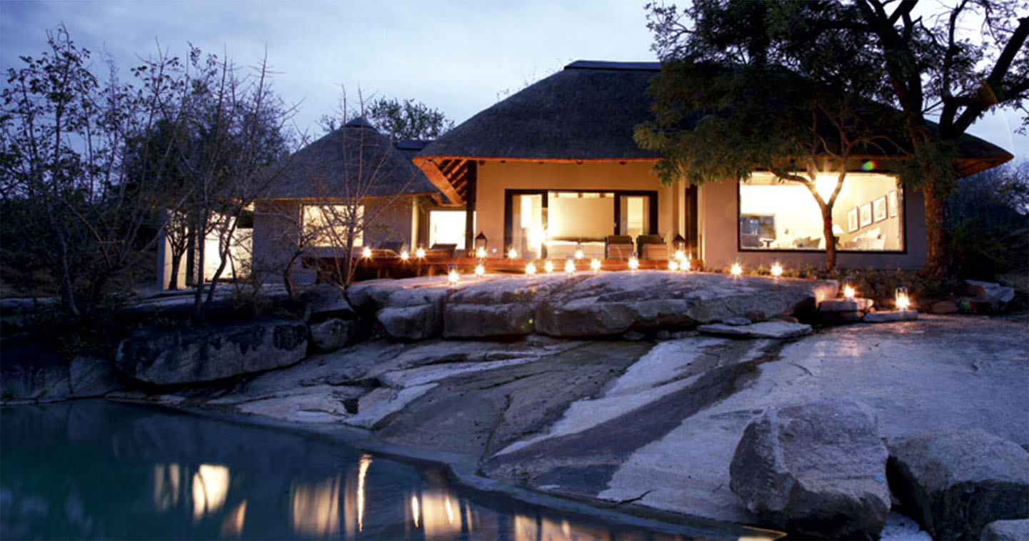 Luxury suite at Londolozi in Sabi Sands