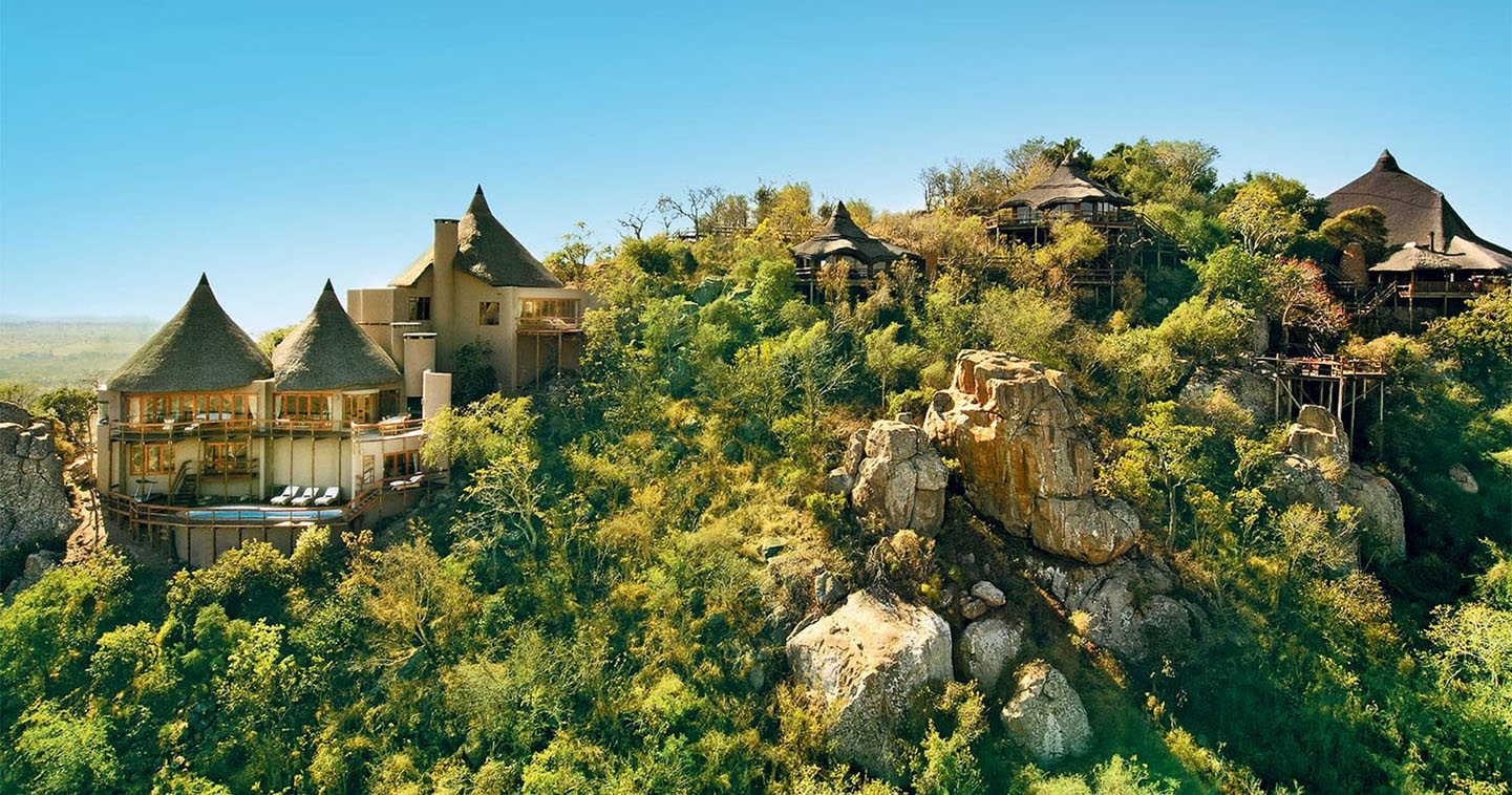 Ulusaba Rock Lodge in Sabi Sands